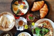 French Breakfast in Prague Czech Republic