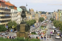 Wenceslas Square - Bletting