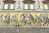 Fürstenzug mural Dresden Germany