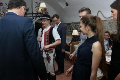 Slowakische Folklore mit Musik - Bletting