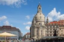 Dresden Frauenkirche Church Germany