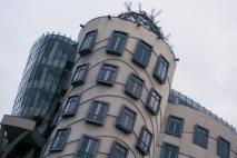 The Dancing House Building Prague Czech Republic