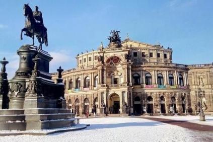 Semperoper Dresden Germany tour