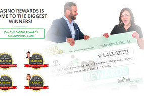 CASINO REWARDS IS HOME TO THE BIGGEST WINNERS!
