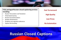 Get Attractive Offers In Russian Captioning Services