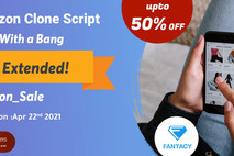 Limited Period Offer – Grab the deal of up to 50% offer for Amazon clone