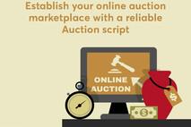 Build a feature-packed online auction platform with auction script