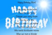 Mom Birthday Wishes - How Will We Make Her Smile By Writing the Perfect Birthday Card