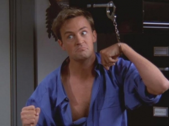 Chandler Bing, stuck at 10 place